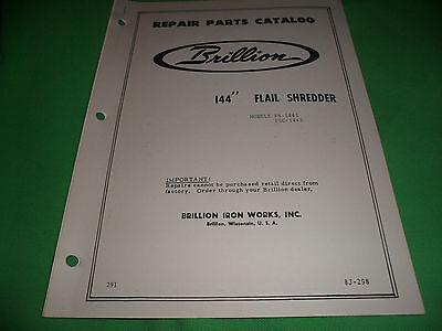 Drawer 16 Brillion 144 Flail Shredder Fs-1445 Fsc-1445 Repair Parts Catalog