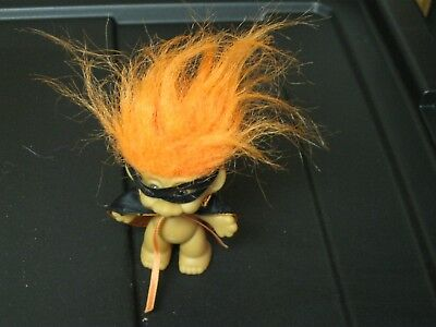 RUSS TROLL IN HALLOWEEN COSTUME MASK & CAPE TROLL DOLL - Troll Dolls Halloween Costume