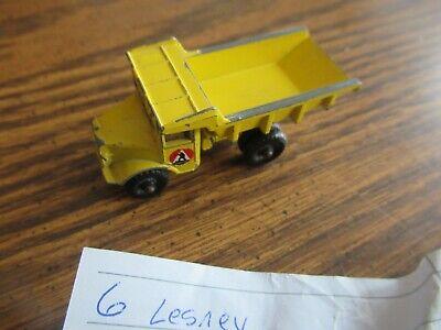Matchbox vintage Lesney #6 Euclid Quarry Dump Truck
