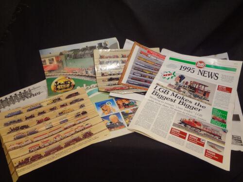 Late 90s LGB Train Brochures