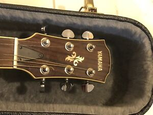 Yamaha Acoustic/Electric - MINT with case. Left-handed