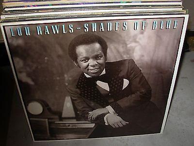 LOU RAWLS shades of blue ( jazz ) - WHITE LABEL PROMO - (White Label Sunglasses)
