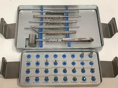 Innova Sybron Endopore Surgical Dental Implant Instrument Accessories Kit System