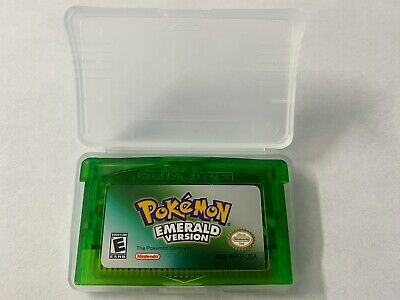 Pokemon Emerald Version GBA Gameboy Advance USA SELLER FIRST CLASS SHIPPING FAST