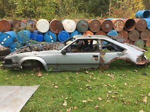Toyota MK2 Supra Parts Car