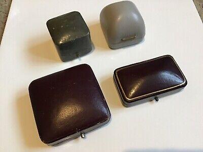 Vintage Jewellery Display Boxes. X4