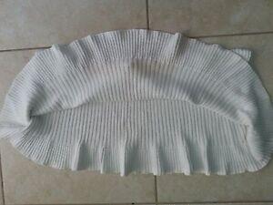 lotto-539-T-shirt-maglietta-coprispalle-bianco-donna-Tg-Unica