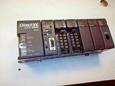 Direct Logic 205 Koyo W D2-250-1 Cpu 85-264 Vac W Modules
