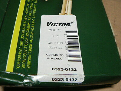 Victor Professional Model 6-w Welding Nozzle 0323-0132