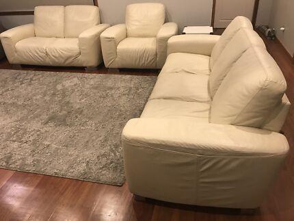 Demir leather lounge set