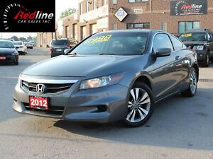 2012 Honda Accord EX-L Navi-Bluetooth-Sunroof-Leather