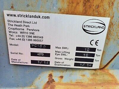 Strickland Quick Coupler Pc160