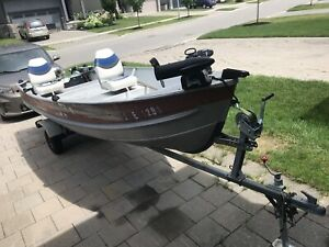 14.5 aluminum boat with everything you need