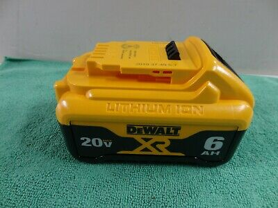 NEW Genuine Dewalt DCB206 20V Max 6.0AH XR Li-Ion Battery - FREE PRIORITY SHIP!