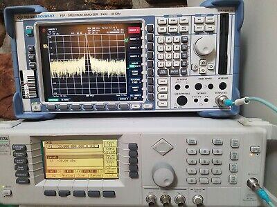 Rohde Schwarz Fsp-3816 Options B10 Etc - 40 Ghz Spectrumnetwork Analyzer