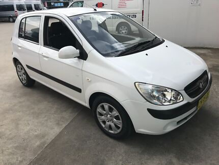 CHEAP 5DOOR GETZ AUTO LOW KM Thornleigh Hornsby Area Preview