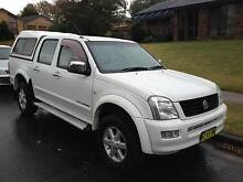2005 HOLDEN RODEO RA LT 4x4 3.5 V6 AUTO DUAL CAB WITH EXTRAS Castle Hill The Hills District Preview