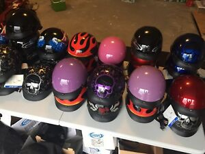 Adult DOT approved helmets