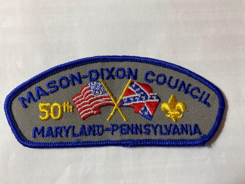 MINT CSP Mason-Dixon Council Maryland Pennsylvania 50th Anniversary T-2