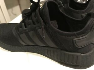NMD R1 Triple Black Size 10.5