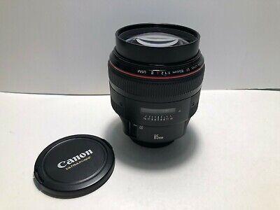 **MINT**  Canon EF 85mm 85 mm f/1.2 f1.2 L II USM Lens