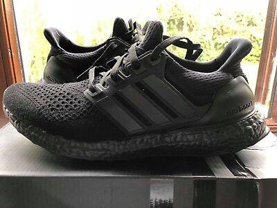b681b543b6a Adidas Ultra Boost 1.0 Triple Black Uk 8 Us 8.5 Eu 42