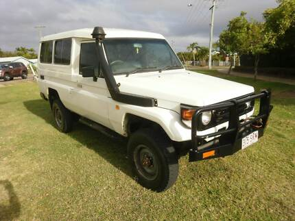 >> YOURS FROM $210 P/WEEK << 2004 TOYOTA LANDCRUISER 4WD TROOPY Mount Louisa Townsville City Preview