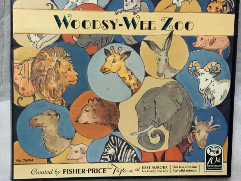 Woodsy-Wee Zoo by Fisher Price New in original box
