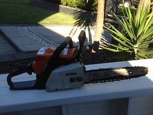 Still chain saw Little Bay Eastern Suburbs Preview