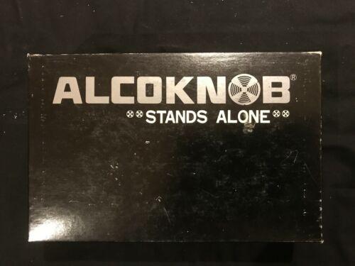 Alcoknob Black Machined Aluminum Knobs NOS Qty 25 KD-1250B Alco Knob 1/4