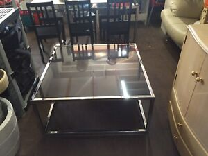 Coffee table with mirror like granite plate  Ultimo Inner Sydney Preview