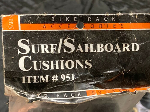 Saris surf board/paddle board pads #951 Brand New Old Stock 1 pair