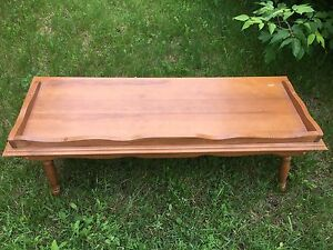 Solid wood coffee table/ or tv table