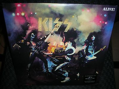 KISS ***ALIVE! **BRAND NEW 180 GRAM DOUBLE RECORD LP VINYL
