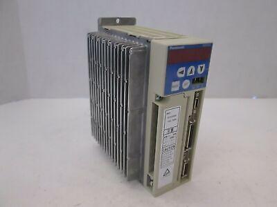 Panasonic Ac Servo Driver Msd021a1xx04 200w Used