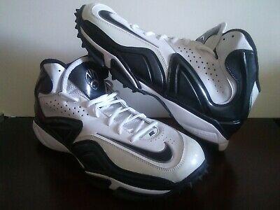 dea287a2fa Nike Speed Destroyer Men's Black White Athletic Turf Cleats Football Sz US  12.5