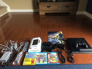 Wii u  / ps4 bundle for trade looking for SNES