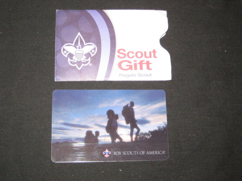 Boy Scouts of American Scout Shop Gift Card    wf