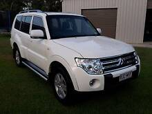 2008 Mitsubishi Pajero Wagon, 3.2 Diesel Auto, White Low Km's Glen Eden Gladstone City Preview