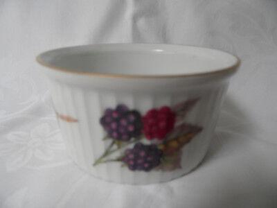 Royal Worcester EVESHAM Ramkin Dish Fine Porcelain Porzellan 0993 Royal Worcester Fine Porcelain