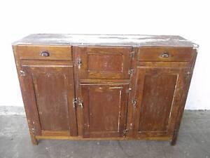 C32100 Vintage Oak Sideboard Kitchen Buffet Mount Barker Mount Barker Area Preview