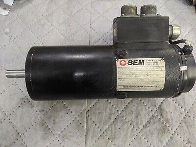 Sem Mt30m4-28 Dc Servomotor Wencoder Used