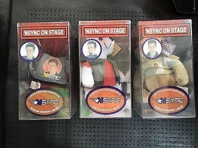 '*NSYNC On Stage Limited Edition Rare Bears