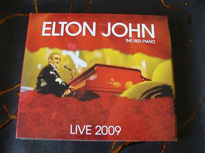Slip CD Double: Elton John : Red Piano Live 2009 Palau Sant...