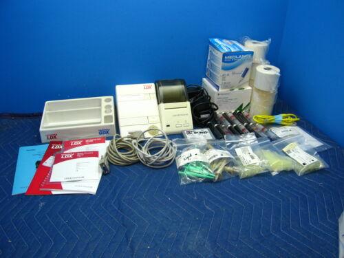 Alere Cholestech LDX Cholesterol Analyzer System with Printer Warranty & Extras