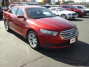 2013 FORD TAURUS SEL- POWER GLASS SUNROOF, NAVIGATION SYSTEM, LE