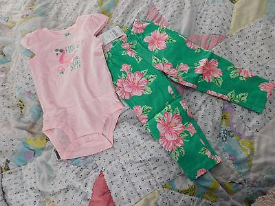 Carter's Size 12months, NWT, Super Cute 2pc Outfit, SO Darling!