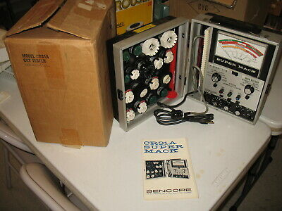 Sencore Cr31a Super Mack Crt Testerrestorerrejuvenator