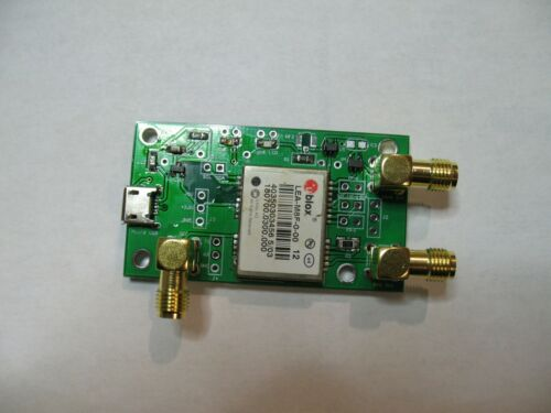 the smallest and simplest GPSDO, based on U-blox LEA M8F module, 202102 version