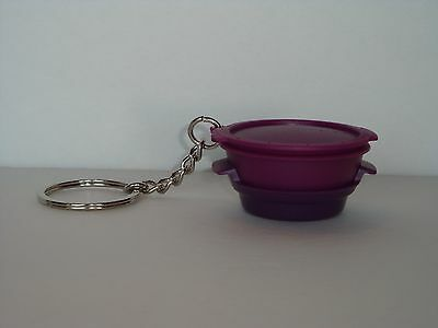 Tupperware Key Chain Smart Steamer Collectible Purple New